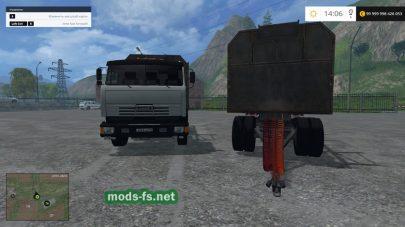 Мод КамАЗ 53212 для перевозки бревен в FS 2015