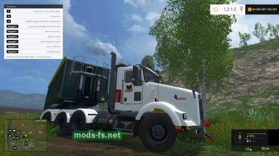 Мод грузовик Kenworth T800