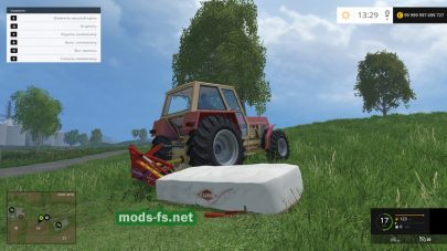 Kuhn GMD 66 Washable mods