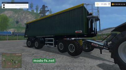 Прицеп Kroeger Agroliner SMK 34