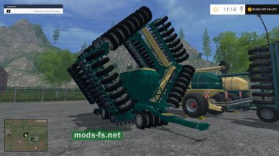 «KRONE, NH, HORCH MIX PACK V2» для FS 2015