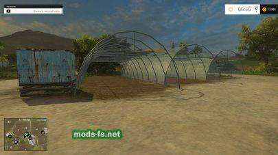 Навесы для хранения урожая в игре FS 2015