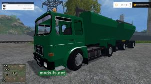 Грузовик MAN F8 WITH LADEWAGEN для FS 2015