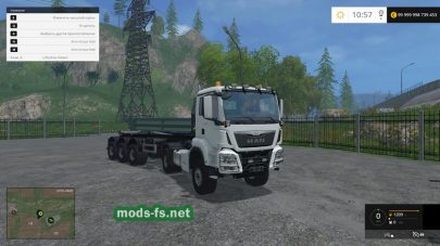 Мод MAN Tractor Unit And Semitrailer HKL