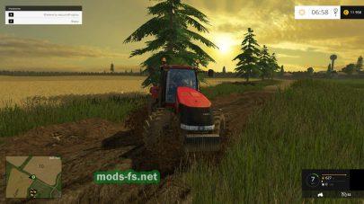 Карта с грязью для Farming Simulator 2015
