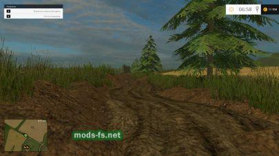 Грязь на карте Muddy Map