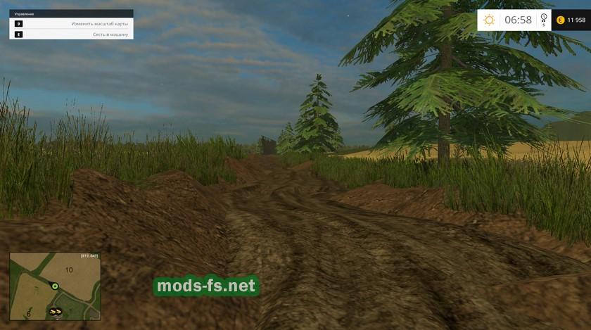 скачать мод для фермер симулятор 2015 на грязь - фото 11