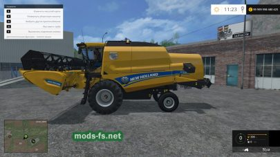 Мод комбайна New Holland CX8090