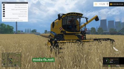 New Holland CX8090 mods