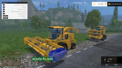 Мод «New Holland FX48 v1.1»