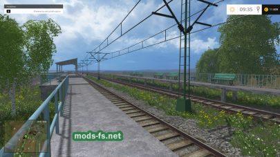 Мод карты с железной дорогой