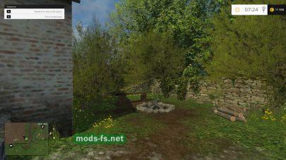 Природа на карте «Посёлок Новотроицкий»
