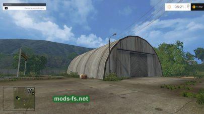 Ангар на ферме