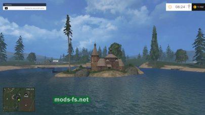 Остров в игре Farming Simulator 2015