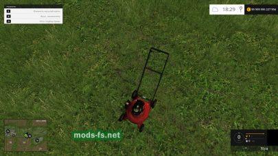 Push Lawn Mower mods