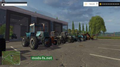 Мод пак русской техники для Farming Simulator 2015