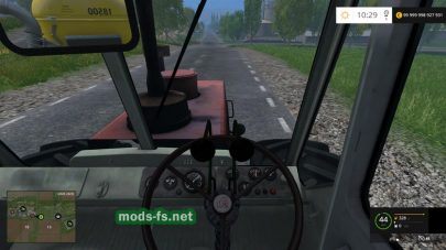 Т-150 МЕ: в кабине