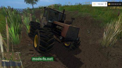 Отечественный трактор Т-150 МЕ