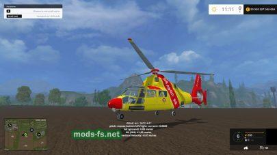 Мод вертолета TFSG Dragon 50 TFSG Exclus Sepcial