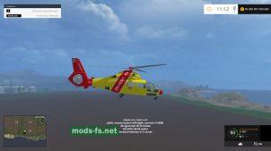 Фото вертолета в игре FS 2015