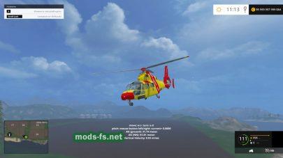 Вертолет Мод вертолета TFSG Dragon 50 для FS 2015