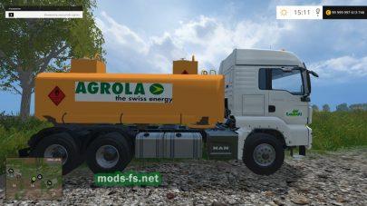 Мод топливозаправщика для игры Farming Simulator 2015