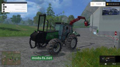 Мод трактора Valmet 6600