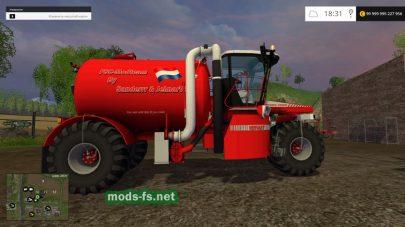 Vervaet Hydro Trike для внесения удобрений