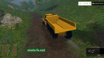 VOLVO A40G mods