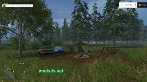Место для отдыха в Farming Simulator 2015
