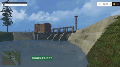 Электростанция в игре Farming Simulator 2015