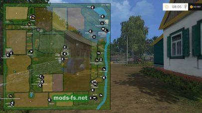 Схема карты «Янова долина Хардкор»