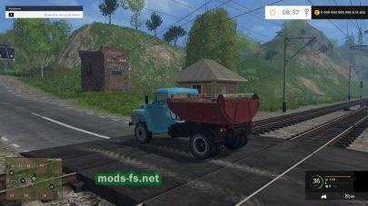 Мод грузовика ЗИЛ ММЗ-555 для FS 2015