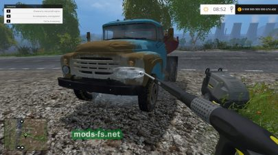 ЗИЛ ММЗ-555 для Farming Simulator 2015