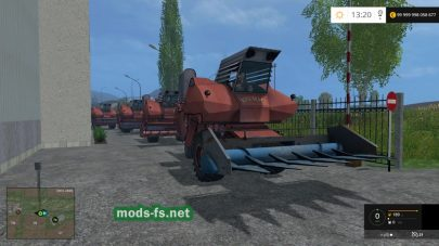 Пак русских комбайнов для Farming Simulator 2015