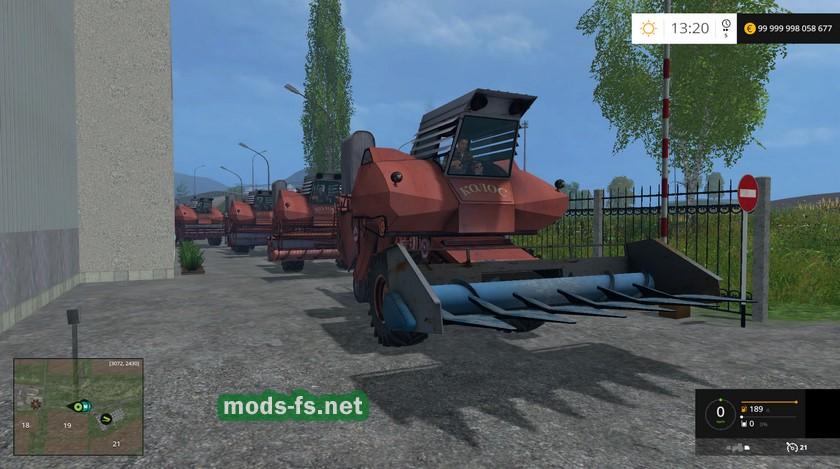 скачать моды для farming simulator 2015 пак комбайнов