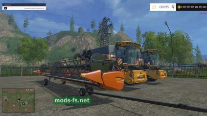Мод пак комбайнов и тракторов для FS 2015
