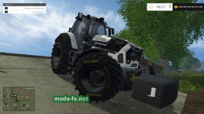 DEUTZ FAHR 9340 для Farming Simulator 2015