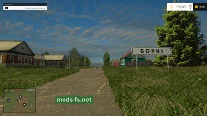 Деревня Борки в FS 2015