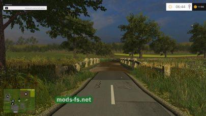 Дороги на карте SZARVASI MG TSZ
