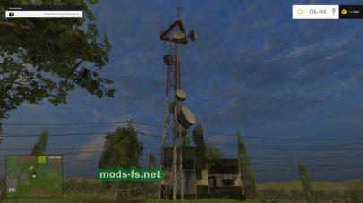 Вышка связи в игре Farming Simulator 2015