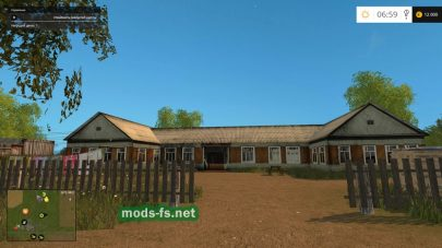 Деревня в игре FS 2015