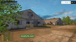 Коровники в игре Фермер Симулятор 2015