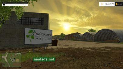 Cибирское хозяйство для Farming Simulator 2015