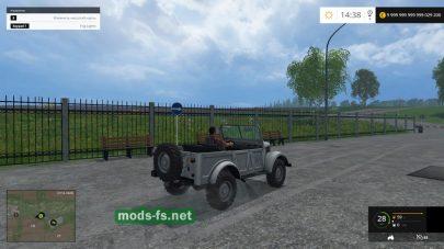 ГАЗ-69 для FS 2015