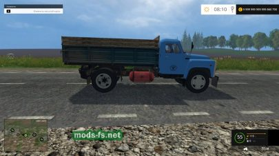 Мод ГАЗ-53 для Farming Simulator 2015
