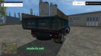 Скриншот мода «ГАЗ-53»