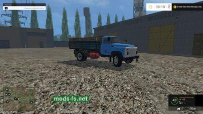 русский грузовик ГАЗ-53 для FS 2015