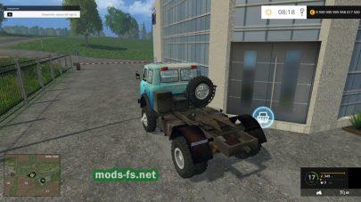 Мод МАЗ-509 для Фермер Симулятор 2015