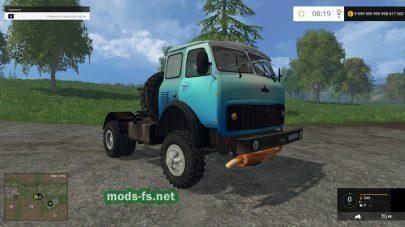 maz-509 mods